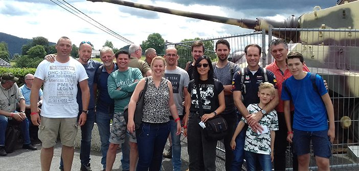 Team IDDS Explosieven on tour: La Gleize Show