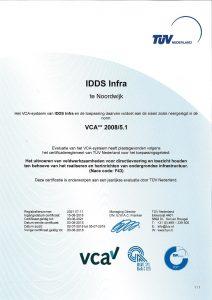 VCA IDDS Infra
