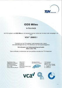 VCA IDDS Milieu