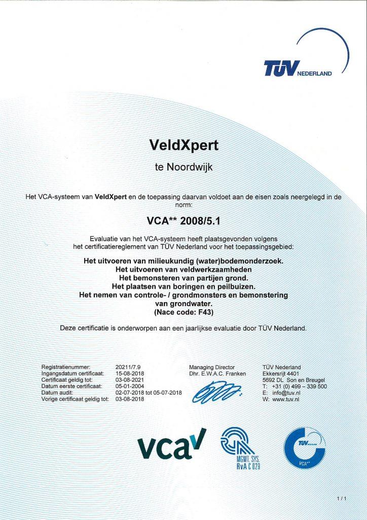 VCA VeldXpert