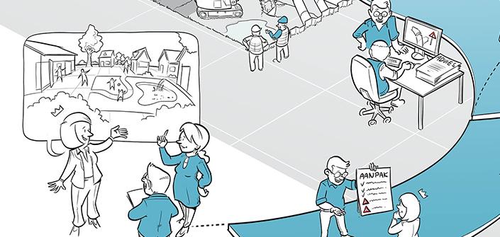 Illustratie van werken-bij IDDS