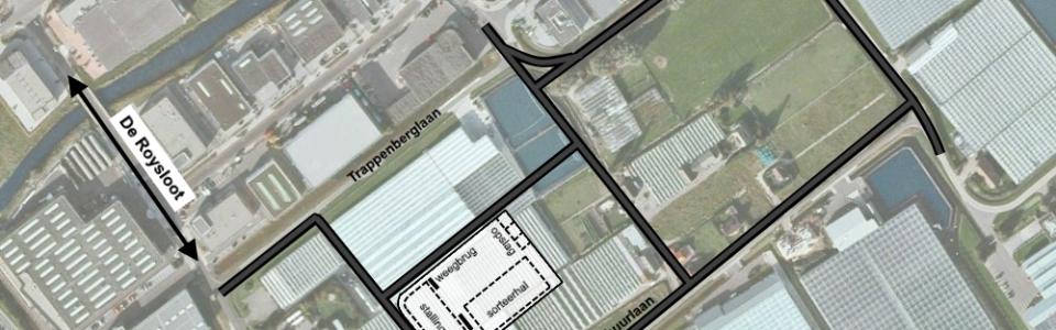 01 Situatie nieuwbouw geprojecteerd op luchtfoto_IDDS