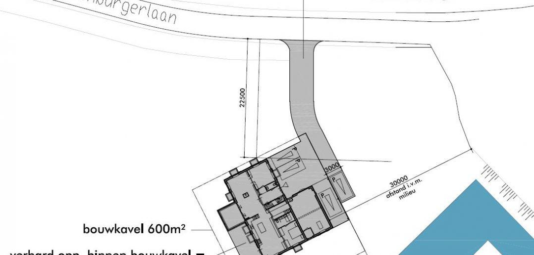 Situatietekening ontwerp_Stol architecten
