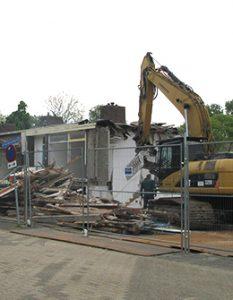 Duurzame ontmanteling 25 woningen