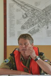 Arie Kapper Stafofficier Vliegtuigberging