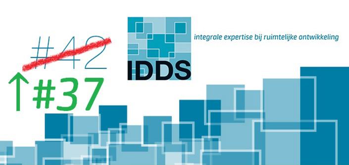 IDDS in Top 50 Ingenieursbureaus 2019