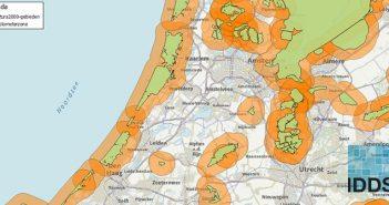 Illustratie van PAS 3km zones