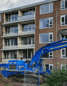 Circulair woningen slopen in katwijk