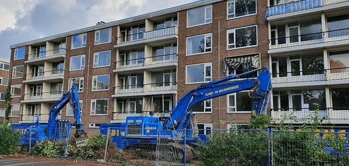 Circulaire sloop 81 woningen in Katwijk