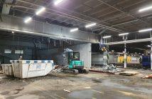 Impressie locatie asbestsanering