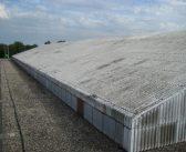Asbest in dakgrind