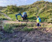 Geen explosieven gevonden in de Katwijkse duinen