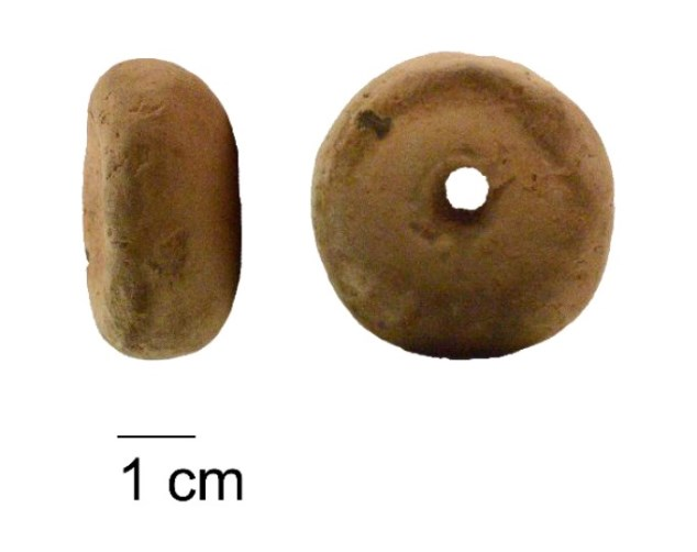 Spintsteentje van 1 cm gebruikt voor verzwaren spinstok
